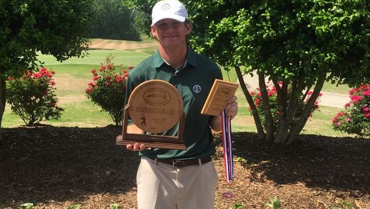 Recent Christ School graduate Jonathan Rector was named the Citizen-Times All-WNC Golfer of the Year for a second time.