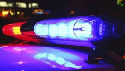 Police responded to a single-car accident on Thursday.