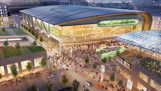 The Milwaukee Bucks are seeking $250 million in tax dollars to help pay for a new, $500 million arena in downtown Milwaukee.