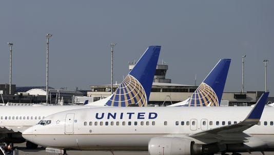 United flights have been grounded nationwide.