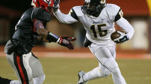 Starkville wide receiver A.J. Brown is the fourth member of the 2015 Dandy Dozen.