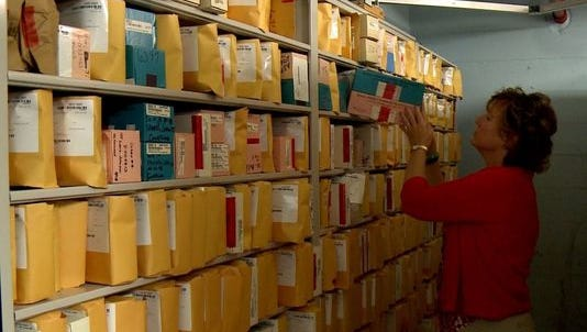Untested rape kits accumulate in storage at the Louisville police department.
