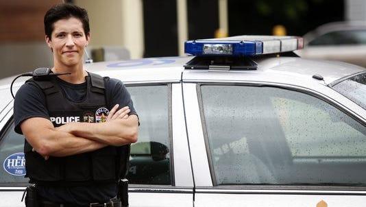 Louisville Metro Detective Jensen Godfrey is the department's first openly transgender cop. Godfrey  has been on the force since 2004.