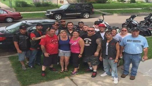 Friends find missing wedding ring for grieving widow.