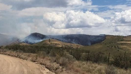 """The 73-acre blaze was named the """"Hull Fire."""""""