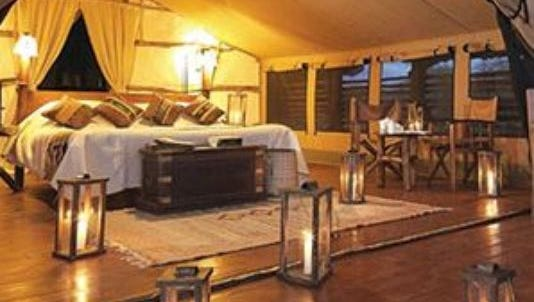A new luxury camping location is opening near Traverse City, Michigan.