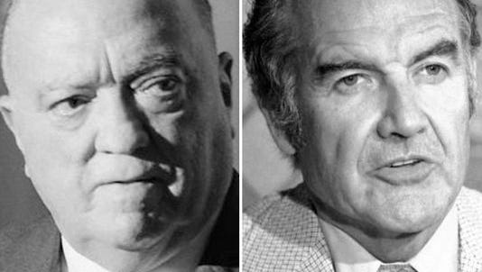 J. Edgar Hoover and George McGovern