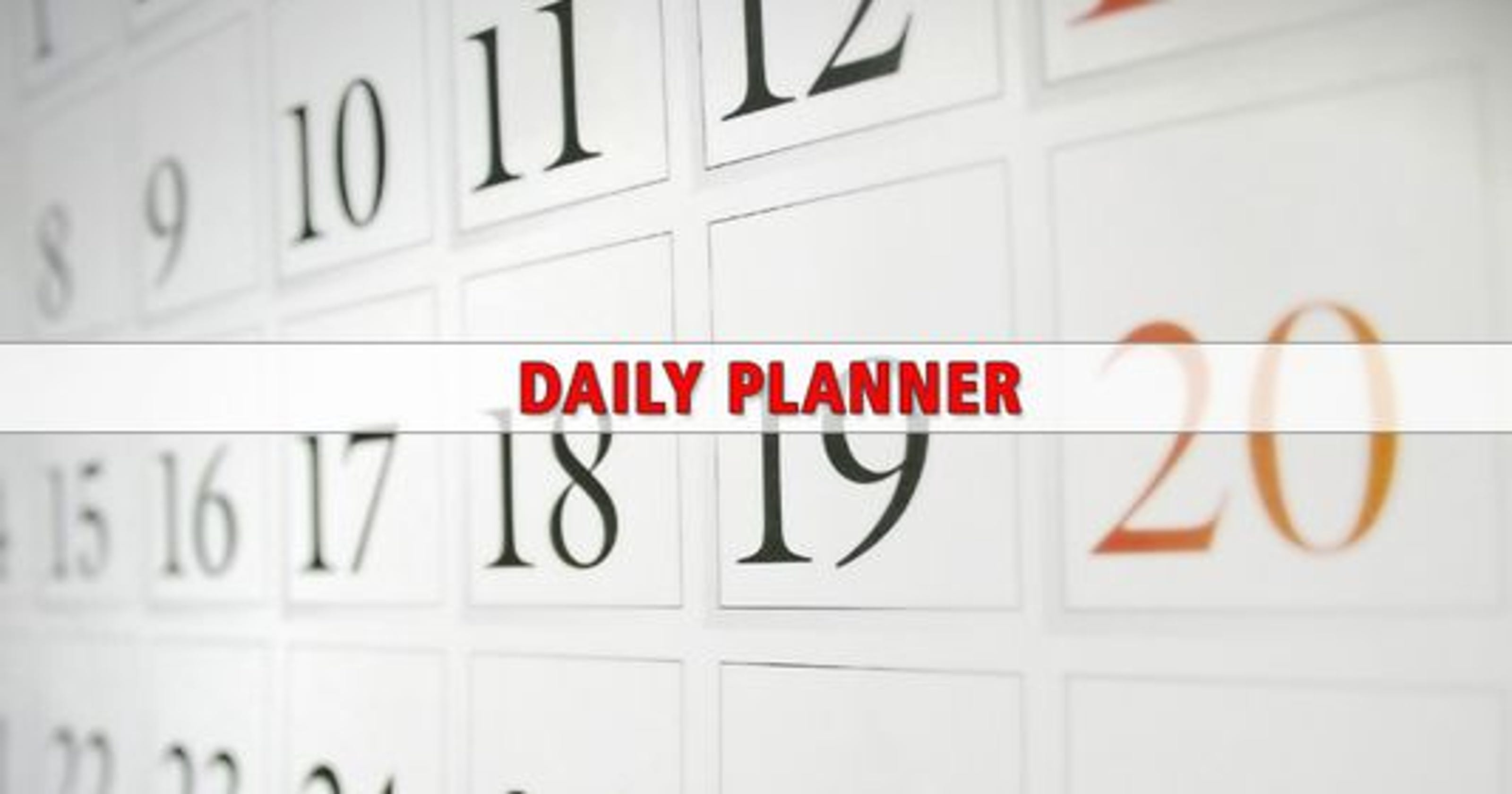 daily planner for nov 1