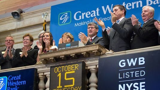 Great Western began publicly trading in October 2014.