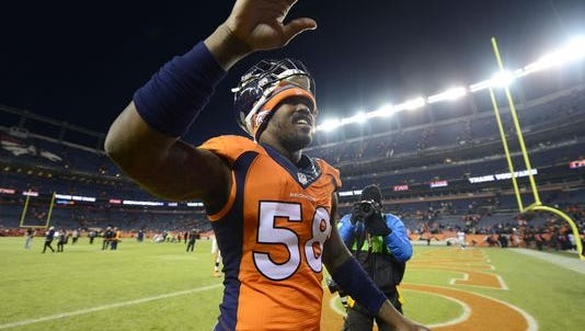 A clean Von Miller dismissed from NFL's drug program