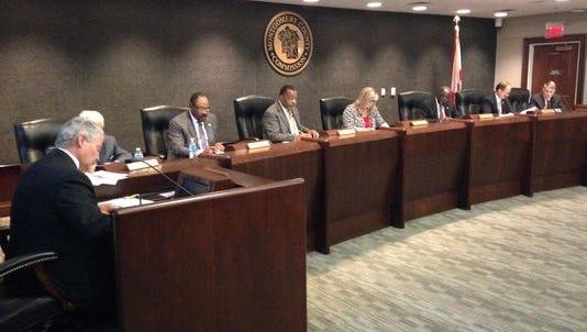 Montgomery County Commission stock photo