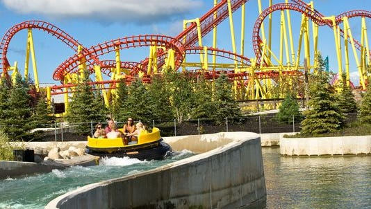 Michigan's Adventure in Muskegon is giving roller coaster lovers the opportunity to spend the night under a coaster.