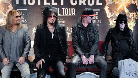 "Motley Crue signed a formal ""cessation of touring agreement,"""