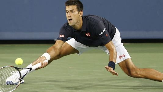 World No. 1s Novak Djokovic (left) and Serena Williams are the top seeds at the Western & Southern Open. Williams is the defending champion; Djokovic is a four-time finalist who has never won the event.