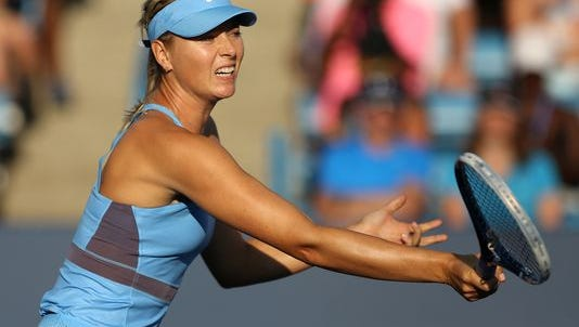 Maria Sharapova is among the former champs in the W&S Open field. She won the title in 2011 and was a finalist in 2010.