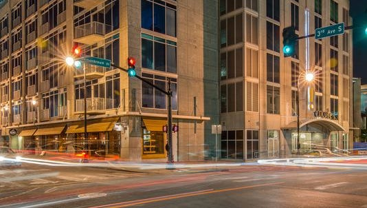SoBro Wine & Spirits will round out the tenant mix at the 20-story Encore building.