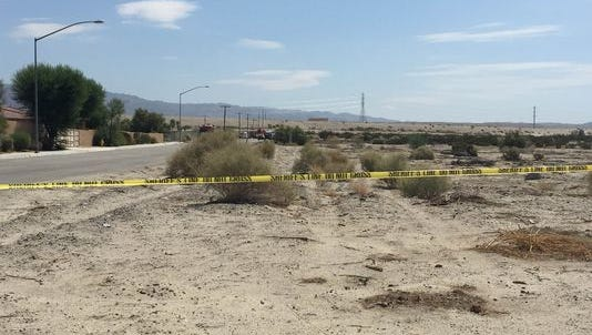 A body was discovered Friday inside a burning SUV on Vista Del Norte in Coachella. The person was identified as Jason Cupit, 38, of Palm Desert.