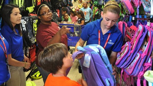 Most people still have back-to-school shopping left to do.