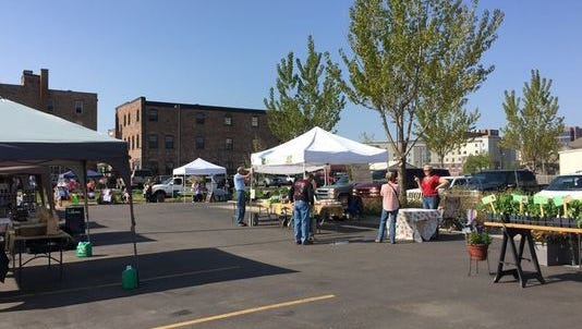 The Prairie Farmers' Market is moving from its summer location of the outdoor parking lot of Cherapa Place to the building's underground parking garage.