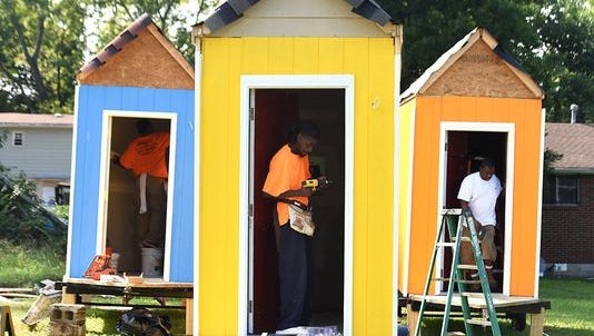 Infinity Village is the first of its kind in Nashville, joining a national trend of homeless housing solutions through micro-home villages.