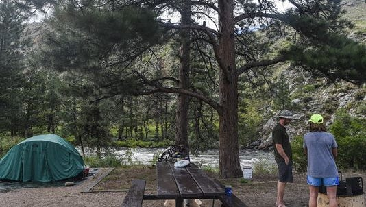 Canyon Lakes Ranger District, pictured here, is one of two local forest service districts seeking volunteers.
