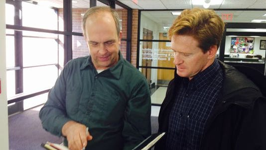 Robert Romanowski and Mike Parietti pushed for a vote on establishing a ward system in Ramapo
