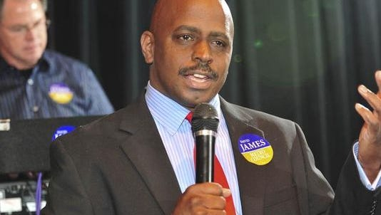 Metro Councilman David James, D-6th District
