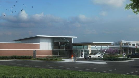 A rendering of Marshfield Clinic's patient comfort and recovery suites in Marshfield, Wausau and Eau Claire.