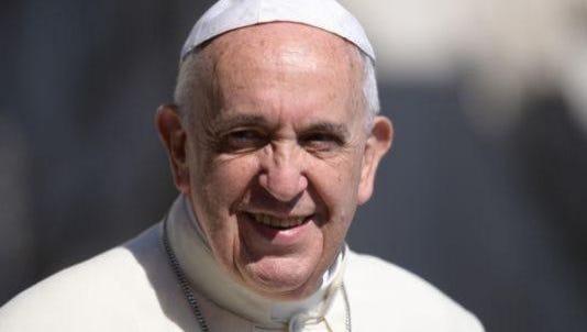Pope Francis visits Philadelphia Saturday and Sunday.