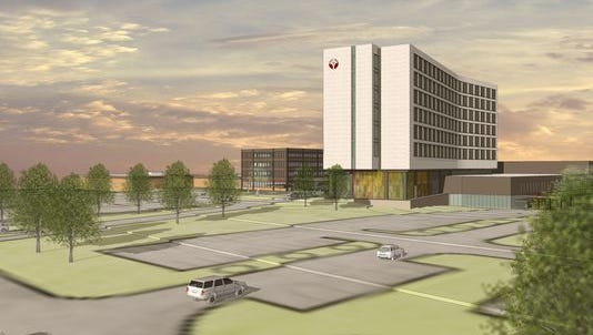 Officials announced the approval of a $271 million medical center in Muskegon.