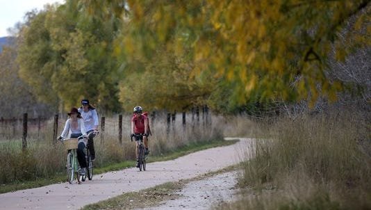 Two new sections of the Poudre Trail are opening Friday.