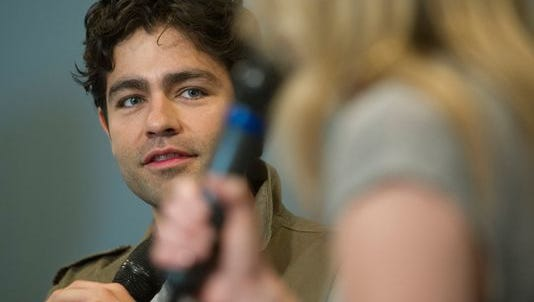Actor and filmmaker Adrian Grenier, speaking at a SXSW Dell event, has been named the first Dell social good advocate.