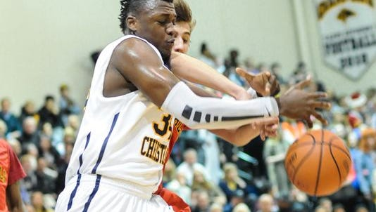 Texas center Shnider Herard is one of the big men Purdue is still pursuing for its 2016 recruiting class.