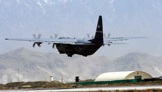 An American C-130 has crashed in Afghanistan, U.S. officials say.