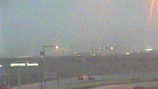 Visibility was less than 1/10th of a mile at DIA early Friday morning.