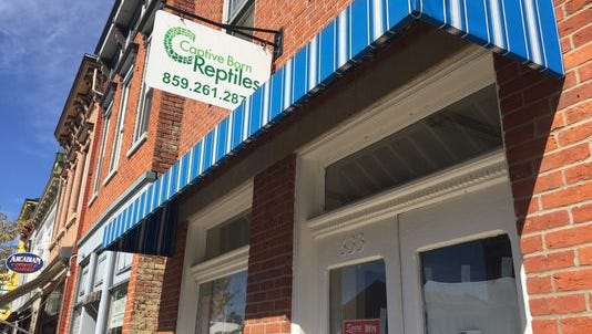 Captive Born Reptiles at 633 Monmouth St. in Newport, Ky.