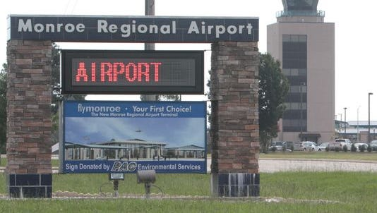 Monroe airport expects to reopen its main runway Oct. 9
