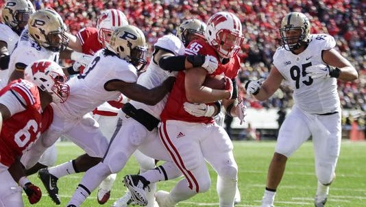 Football: Purdue at Wisconsin