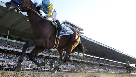 American Pharoah became the first Triple Crown winner in 37 years and now will be the first to run in the Breeders' Cup.