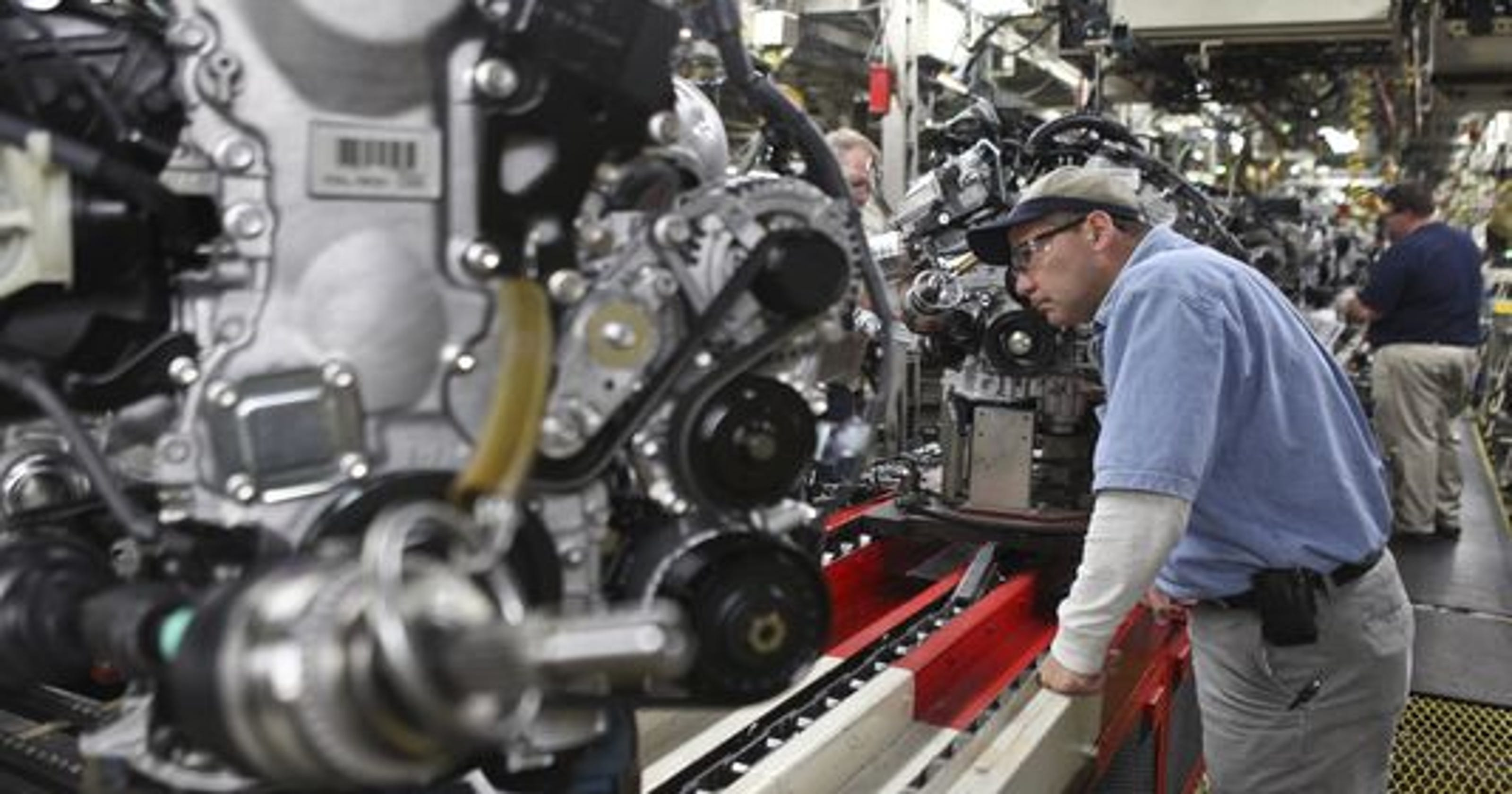 First U S Made Lexus Comes Off Line In Ky