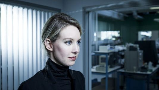 Theranos founder and CEO, Elizabeth Holmes.
