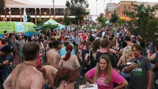 The ACLU is suing the city of Springfield for a new law created in response to Free the Nipple rallies.