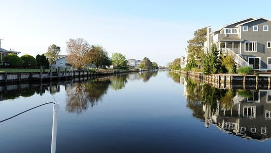 South Bethany canals.
