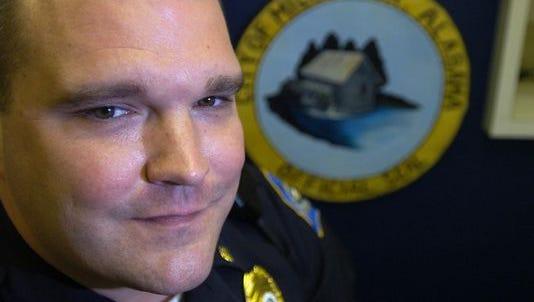 Millbrook Police Chief P.K. Johnson