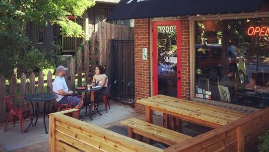 The co--owner of Red Bicycle Coffee & Crepes, located in Germantown, plans to bring a new concept to The Nations.