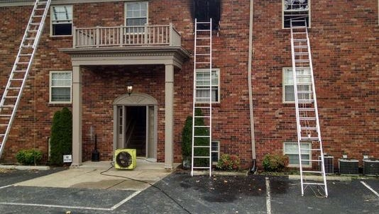 WHAS-11 reports that one person has died after a fire in J-Town.