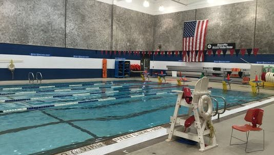 Indoor swimming pool at Theodore D. Young  Community Center in Greenburgh.