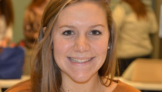 Grace Palmieri, a junior at Indiana University from West Lafayette, Ind., won the top Keating competition prize of $3,000.