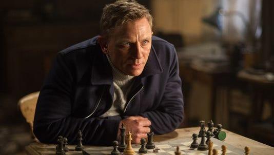 "Daniel Craig stars in a scene from ""Spectre."""
