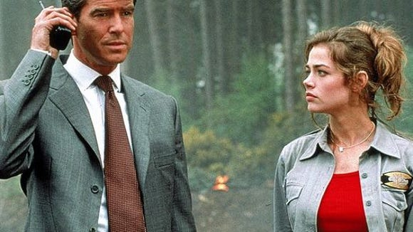 Pierce Brosnan and Denise Richards starred in 1999's 'The World is Not Enough.'